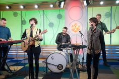 """'Vh1's Big Morning Buzz'  We performed """"Closer"""" and """"Back in Your Head"""" on Vh1's Big Morning Buzz show! It was our first visit to the show and everyone was so lovely."""