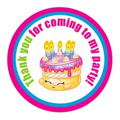 Shopkins Birthday Party Gift Tags $3.99 available at www.partyexpressinvitations.com