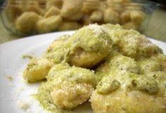 Pesto-szószos gnocchi