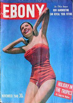 Ebony Magazine Cover - November, 1948