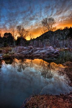 Once upon an East Verde Sunset by Larry Zimmer Photography on Flickr. · #photography #nature