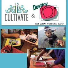 TONIGHT!!! @Eat Learn Create & take home original Art  We are very proud to partner with Destiny Community Café to host a FREE (pay what you can) Science Dinner & Art Evening  No Experience Required! An opportunity for adults & young adults to gather together to share delicious food learn some of the latest climate science make art and discuss local resilience  5:30 Appetizers & Drinks  6pm Dinner & Science  7pm Art & Conversation  Can the Ocean Save Us from Ourselves? - The Biological…