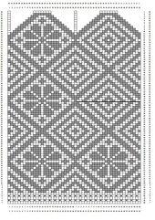 Ravelry: Peasant style socks / Russesokker size pattern by Mijauw-free pattern Knitted Mittens Pattern, Knit Mittens, Knitted Gloves, Knitting Socks, Knitting Charts, Knitting Stitches, Knitting Patterns, Intarsia Patterns, Beading Patterns