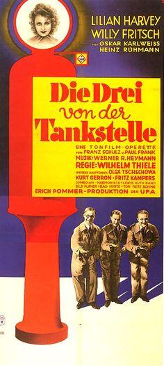 Poster zum Film:  Die Drei von der Tankstelle. 1930