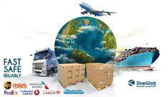 Zineglob Argan Oil Shipping Methods worldwide! www.zineglob.com