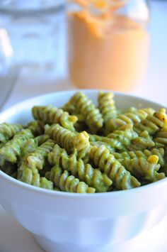 Cheesy-Pesto-Pasta