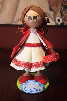 Fofucha Red Riding Hood
