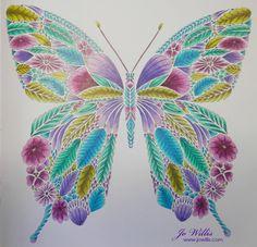 Here I Go Again: A Millie Marotta Butterfly