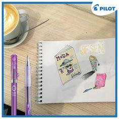 Pravé jesenné počasie si najlepšie vychutnáte v obľúbenej kaviarni s perom Pilot v ruke :) #happywriting #coffee #coffeetime #pilotpensk