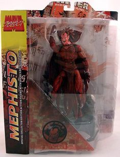 Mephisto Marvel, Action Figures, The Selection, Retail, Image, Sleeve, Retail Merchandising