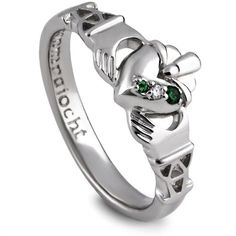 Amazon.com: Silver Claddagh Purity Ring PURCLAD1. Made in Ireland.: CLADDAGH RING STORE: Jewelry