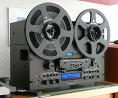 Black Pioneer RT-909 R2R - www.remix-numerisation.fr - Rendez vos souvenirs durables ! - Sauvegarde - Transfert - Copie - Restauration de bande magnétique Audio