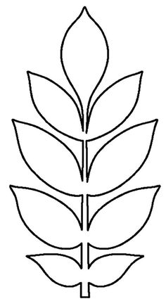 Felt Flower Template, Paper Flower Patterns, Leaf Template, Giant Paper Flowers, Felt Flowers, Diy Flowers, Deco Jungle, Paper Art, Paper Crafts