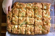 Apple Slice by gggiraffe. Recipe from The LIfe of Clare #Apple_Cake