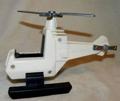 Vintage 1981 Fisher-Price Helicopter Quaker Oats Co. by PeggysVintageVariety on Etsy