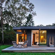 Weathered wood house exterior. Amazing.