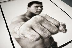 Making Platinum/Palladium prints of Thomas Hoepker's iconic image of Muhammad Ali for Magnum Photos... #magnum #ali #muhammadali #thegreatest #photography