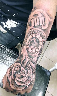 Money Forearm Money Hand Tattoos For Men Forarm Tattoos, Forearm Sleeve Tattoos, Chicano Tattoos, Dope Tattoos, Best Sleeve Tattoos, Tattoo Sleeve Designs, Body Art Tattoos, Tattoos Masculinas, Money Rose Tattoo