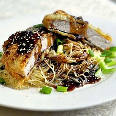 Baked Teriyaki Panko Pork Chops - how about these for dinner tonight. Perfect with some simple noodles to complete the meal.