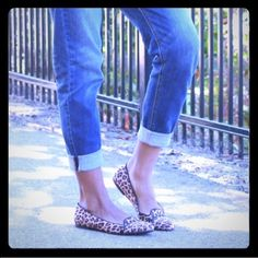 New Cheetah Print Loafer Flats Only worn to try on, brand new, no trades. Will bundle! Mossimo Supply Co Shoes Flats & Loafers