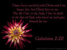 Famous Bible Verses About Courage | Bible Verse Wallpaper - Galatians 2:20