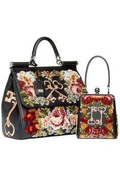 Dolce&Gabbana - Women's Accessories - 2014 Pre-Fall - handbags cheap, yellow handbags, brand women's handbags