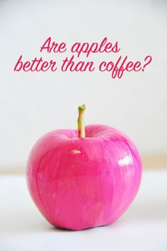 are apples a better wake up call than coffee?