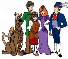 Steampunk Scooby Gang