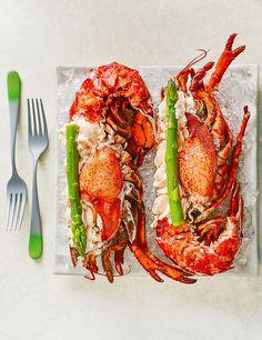 Halves of Dressed Fresh Canadian Lobster