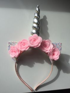 aaae9d41a4d Excited to share the latest addition to my  etsy shop  Unicorn Horn  Headband -