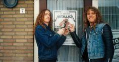 James Hetfield & Cliff Burton- Metallica ....
