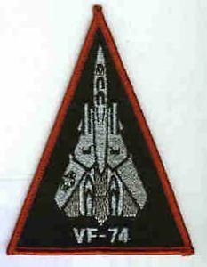 VF-74 BEDEVILERS F-14 Shoulder Triangle