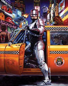 Army of Darkness - Robocop - Akira - Star Wars - Alien - Taxi Driver - Rocky…