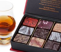 Whisky and Chocolate pairings from Iain Burnett the Highland Chocolatier.  Every chocolate expertly matched with malt whiskies.