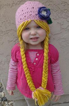 interesting+crochet | Crochet Hat Pattern for Little Cute Girls: