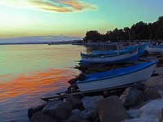 Еvening silence, Pomorie, Bulgaria