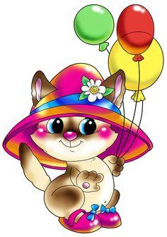 Am I cute or what♡ Cute Cartoon Images, Cute Images, Cute Pictures, Kitten Cartoon, Kitten Images, Clip Art, Cute Clipart, Am I Cute, Cute Illustration