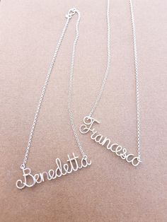 Personalized Name Necklace Dainty Custom Name Necklace