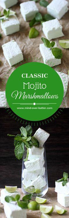 Classic Mojito Marshmallows --- www.mind-mind-over…