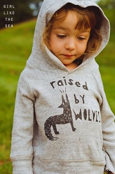 Raised by wolves sweater - girl like the sea