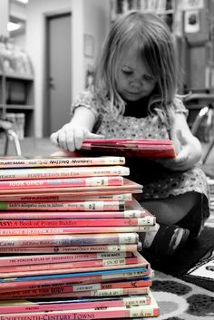Yep, this was me 40 or so years ago. Just me & a big stack of books, happy to just be reading.