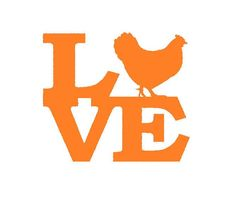 Chick Love Decal