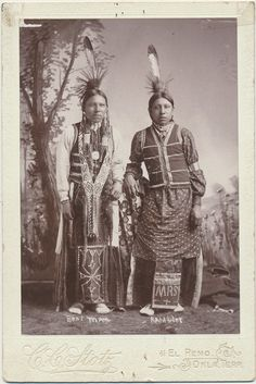 Bear Man & Rambler Native American Oklahoma by CrowCreekUnique, $425.00