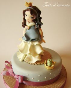 The Princess and the frog - by Tortedincanto @ CakesDecor.com - cake decorating website