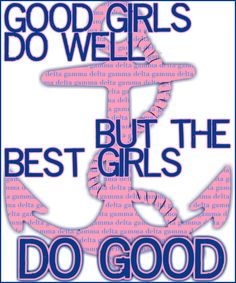 Delta Gamma, do good