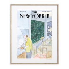 Discover the covers of the famous magazine The New-Yorker, illustrate by the talented artists : Sempé,Steinbers, Floch, Getz, Ulriksen, Toyosan..