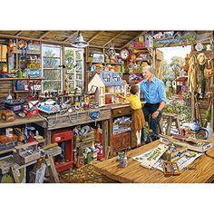 Gibsons Grandad's Workshop Jigsaw Puzzle (1000-Piece) Gibsons http://smile.amazon.com/dp/B004GUSVK6/ref=cm_sw_r_pi_dp_8zhAvb061T4MH