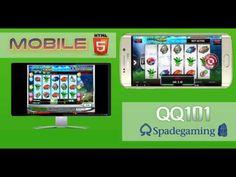 Spade Gaming - Aqua Cash | Slot Mesin Jackpot | QQ101 | HTML5