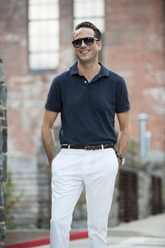 mens fashion and style - polo shirt + chinos - yes or no?