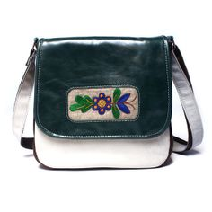 Messenger bag messenger purse leather bag by BrandiaManufacture, $92.00